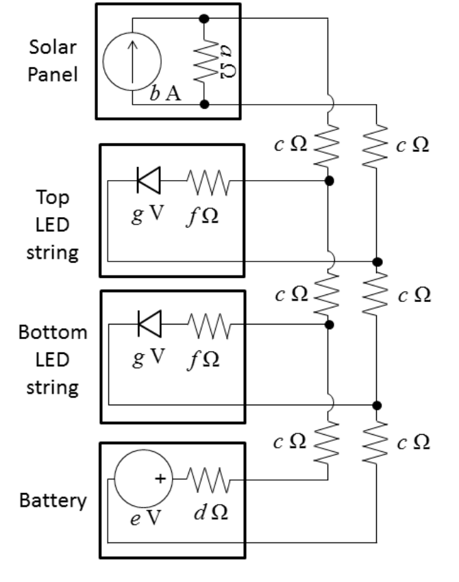 diagram of solar panels connected in parallel