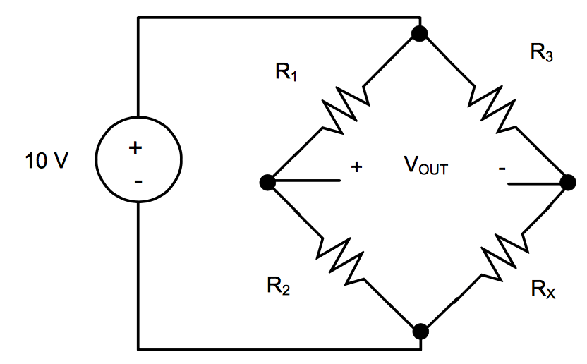 wheatstone bridge wiring diagram