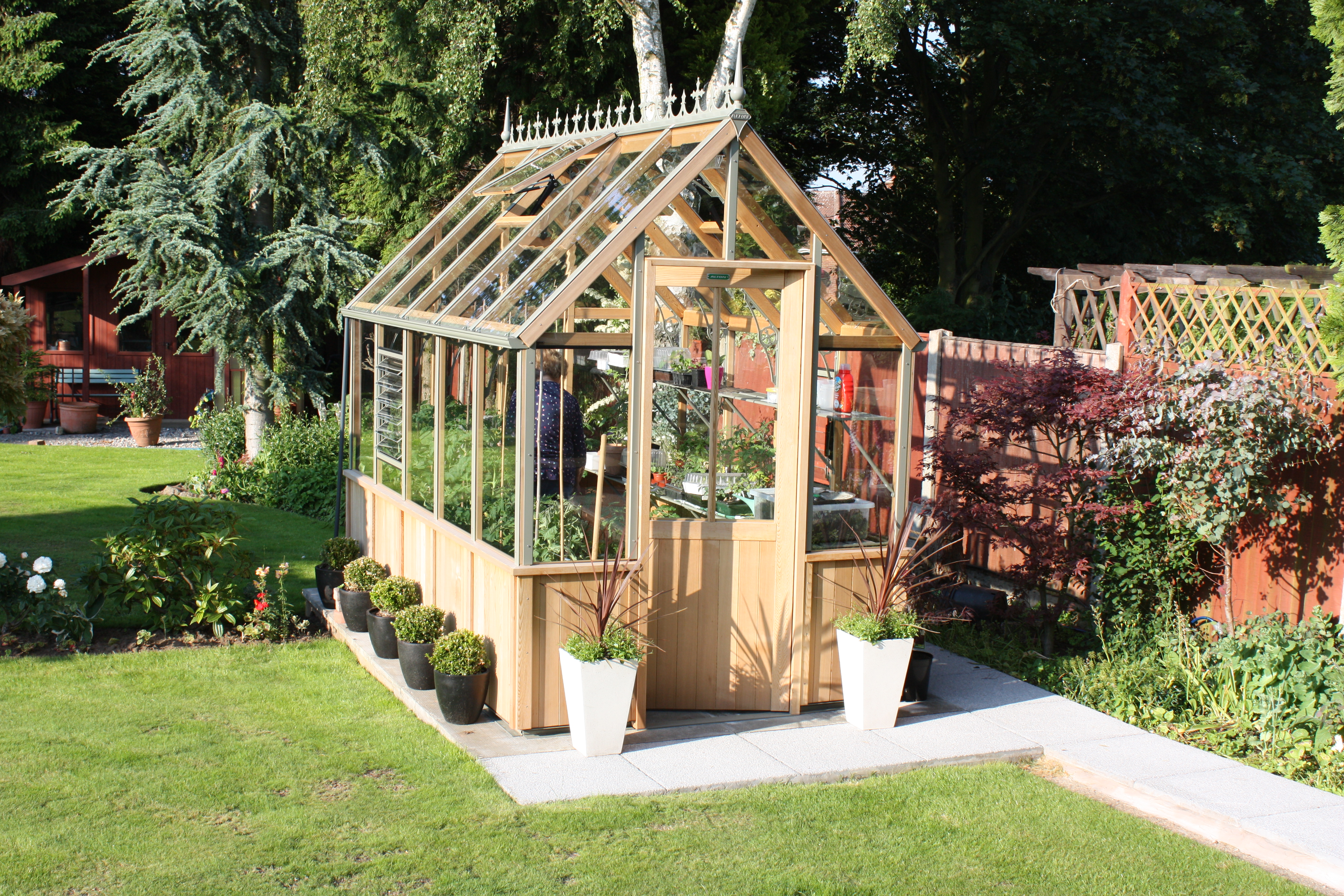 Gewächshäuser Sale Wooden Greenhouses For Sale Alton Greenhouses