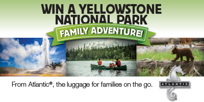 Win a Yellowstone National Park Family Adventure