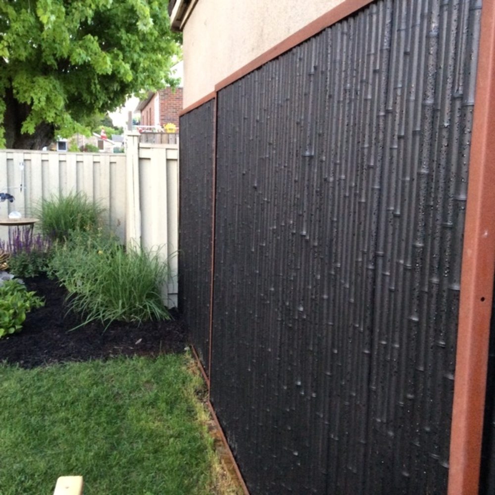 Bamboo Fence Canada New Trend Fencing Products Gallery Bamboo Distinction