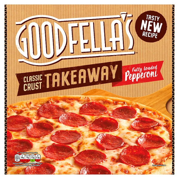 Goodfella\u0027s Takeaway Slice n\u0027 Share Fully Loaded Pepperoni Pizza