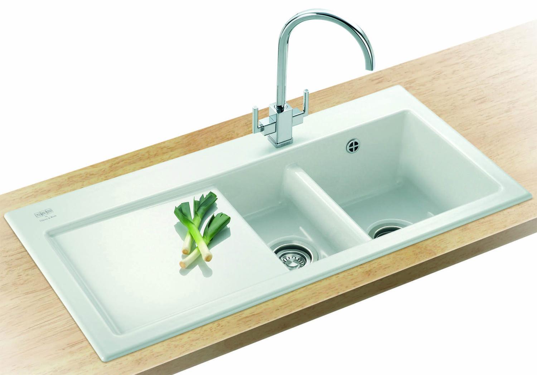 Franke Mythos Mtk 651 Ceramic 15 Bowl Kitchen Inset Sink