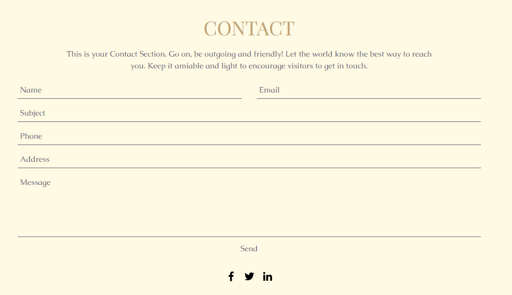 ADI Adding a Contact Form Help Center Wix