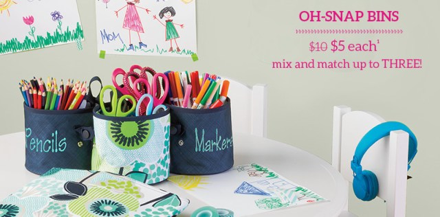Oh-snap Bins $5 each mix and match up to three!