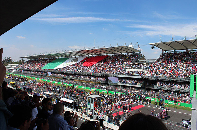 Formula 1 Gran Premio 2018 Mexican Grand Prix Official Ticket Packages