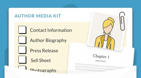 How to Build a Rocking Author Media Kit a 7-Step Template \u2022 Reedsy
