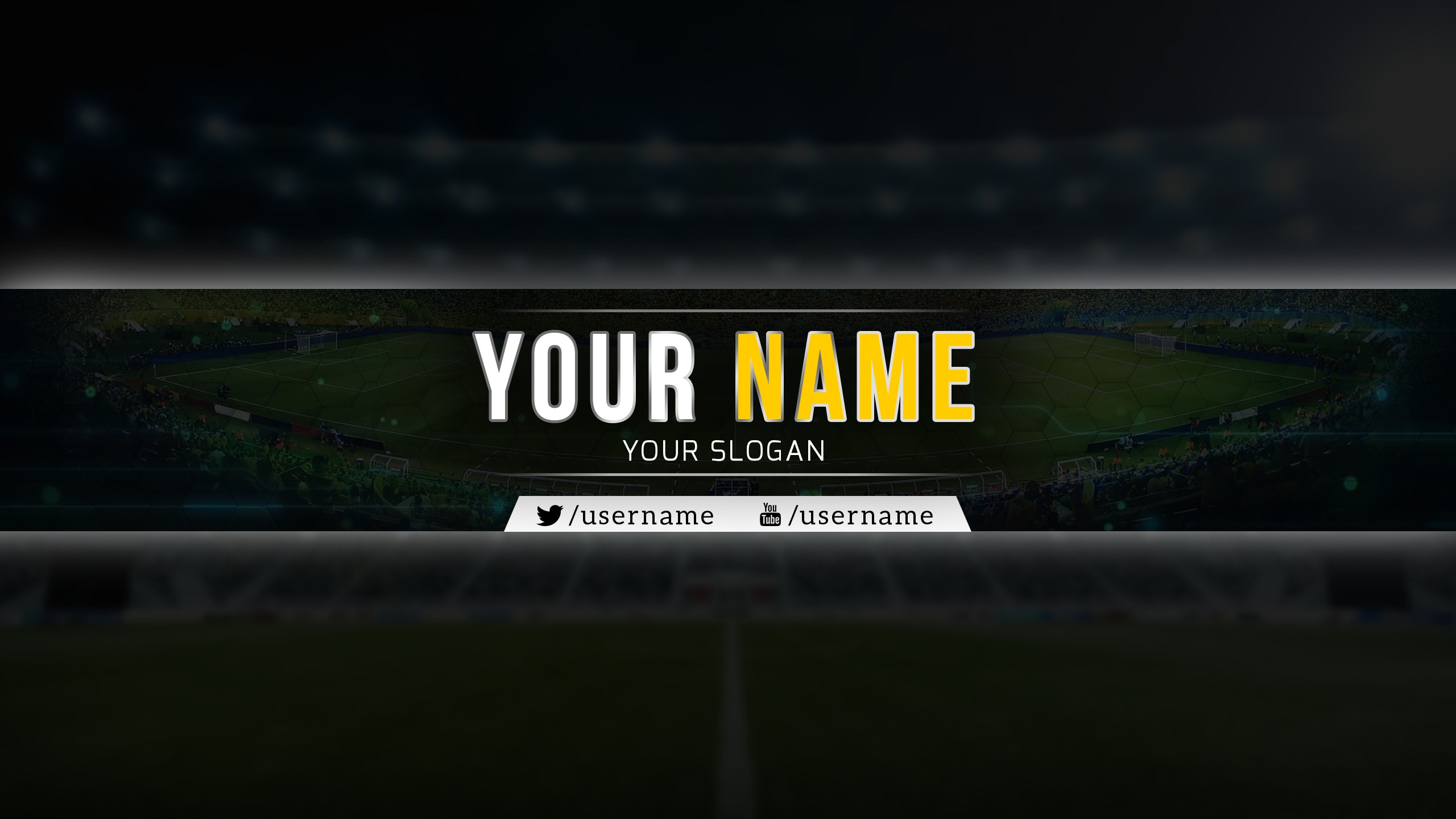 Store Banne Ultima Fifa Themed Youtube Banner Benje G Design Sellfy