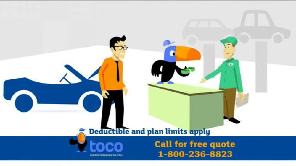Toco Warranty TV Commercial, \u0027 Vehicle Service Contract\u0027 - iSpottv