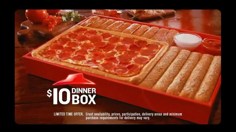Pizza Hut TV Commercial For $10 Dinner Box - iSpottv