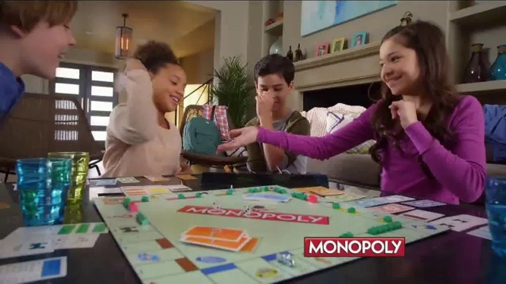Monopoly Game Cheaters Edition Hasbro Gaming Tv Commercial 39;monopoly And Jenga 39; Ispot Tv