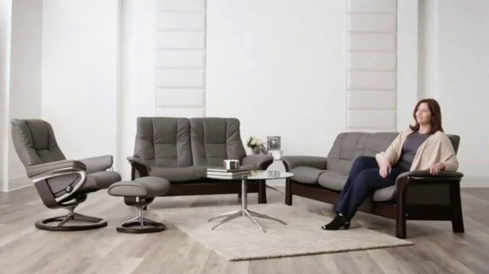 Stressless Couch Ekornes Stressless Tv Commercial, 'summertime Comfort