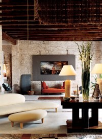 Modern Living Room by David Lladr by Architectural Digest ...