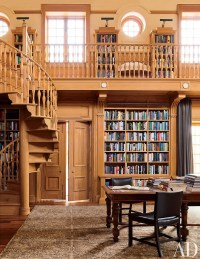 Traditional Office/Library by David Kleinberg Design ...