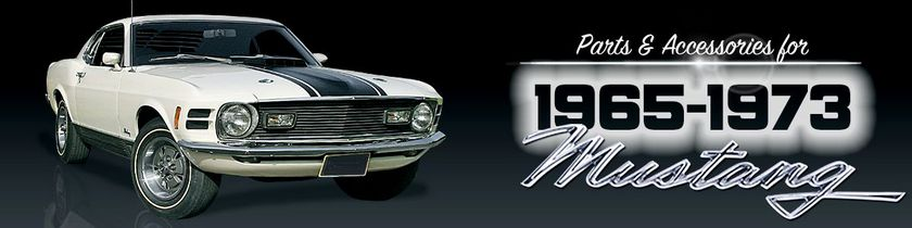 1965-73 Classic Mustang Restoration Parts  Accessories - National