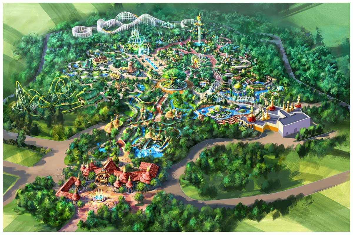 Парк мира Lotte World Reveals Details Of