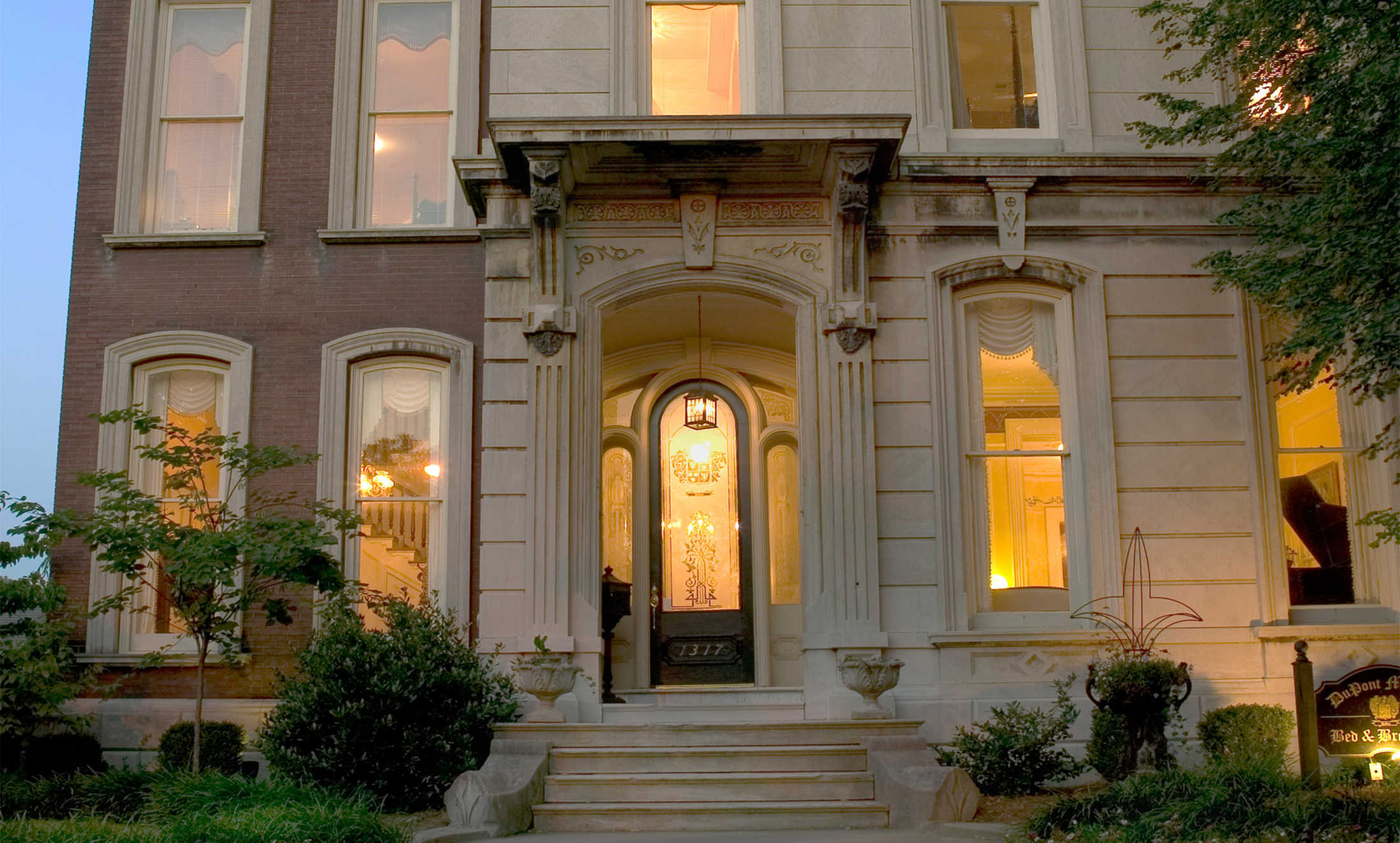 Extended Stay Inns Louisville Ky Bed And Breakfast - Dupont Mansion Historic B&b