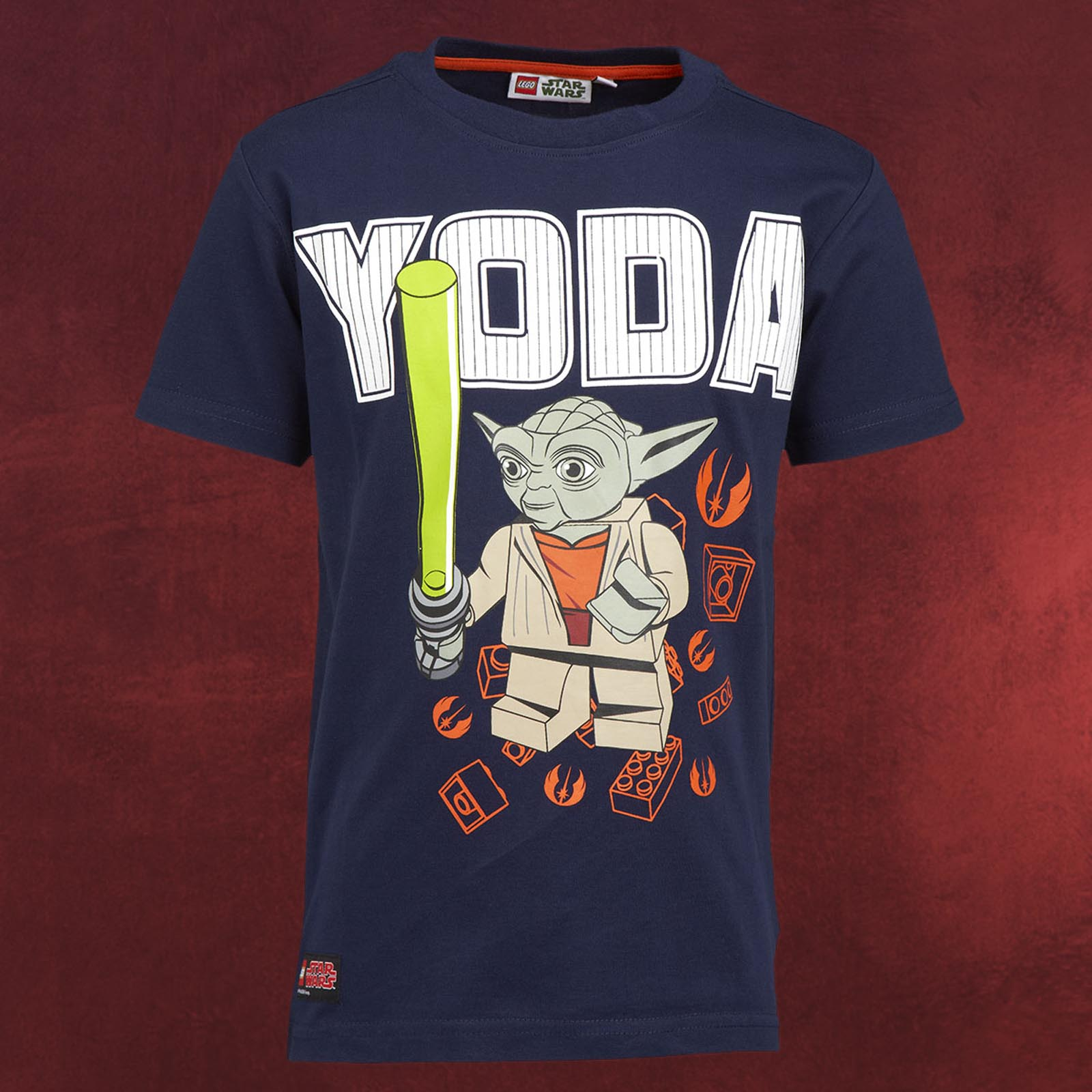 Star Wars Bettwäsche Leuchtend Lego Star Wars Wear Meister Yoda Jungen T Shirt Blau Jedi