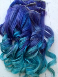 The gallery for --> Purple Blue Hair
