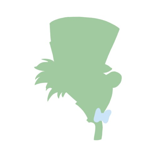 Medium Crop Of Mad Hatter Silhouette
