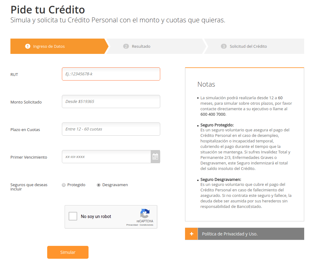 Requisitos Para Una Hipoteca Cómo Pedir Un Crédito Al Banco Estado Rankia
