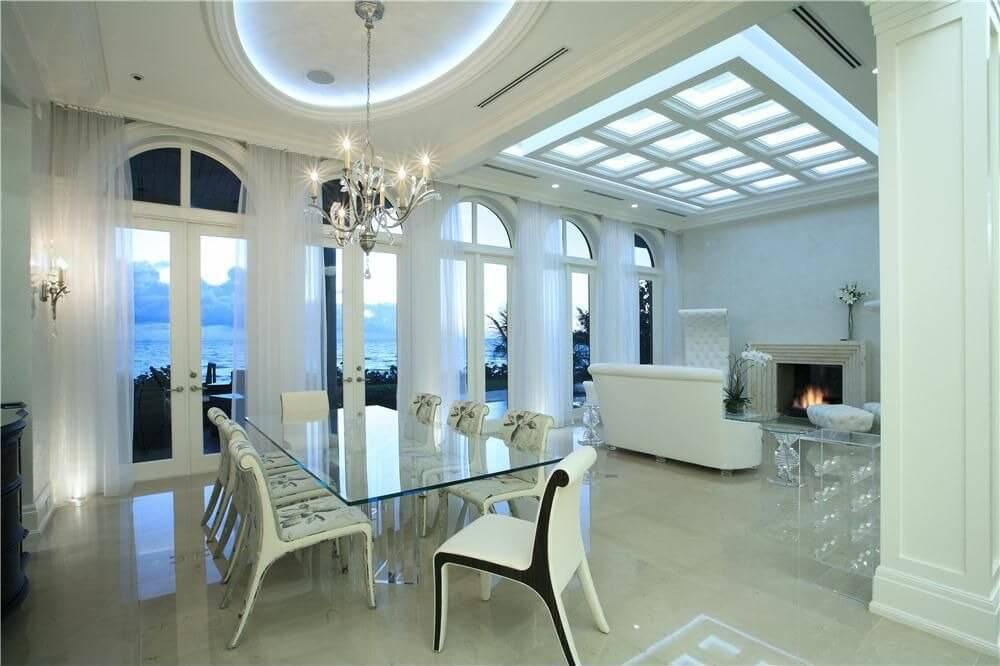 126 Custom Luxury Dining Room Interior Designs - living spaces dining room sets