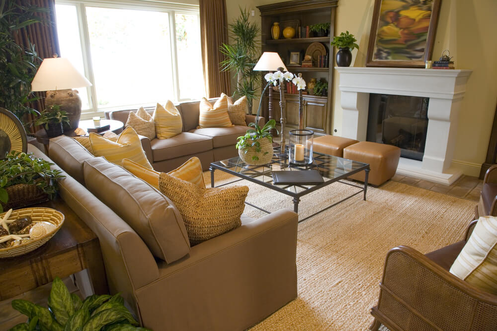 46 Swanky Living Room Design Ideas (MAKE IT BEAUTIFUL) - deep couches living room