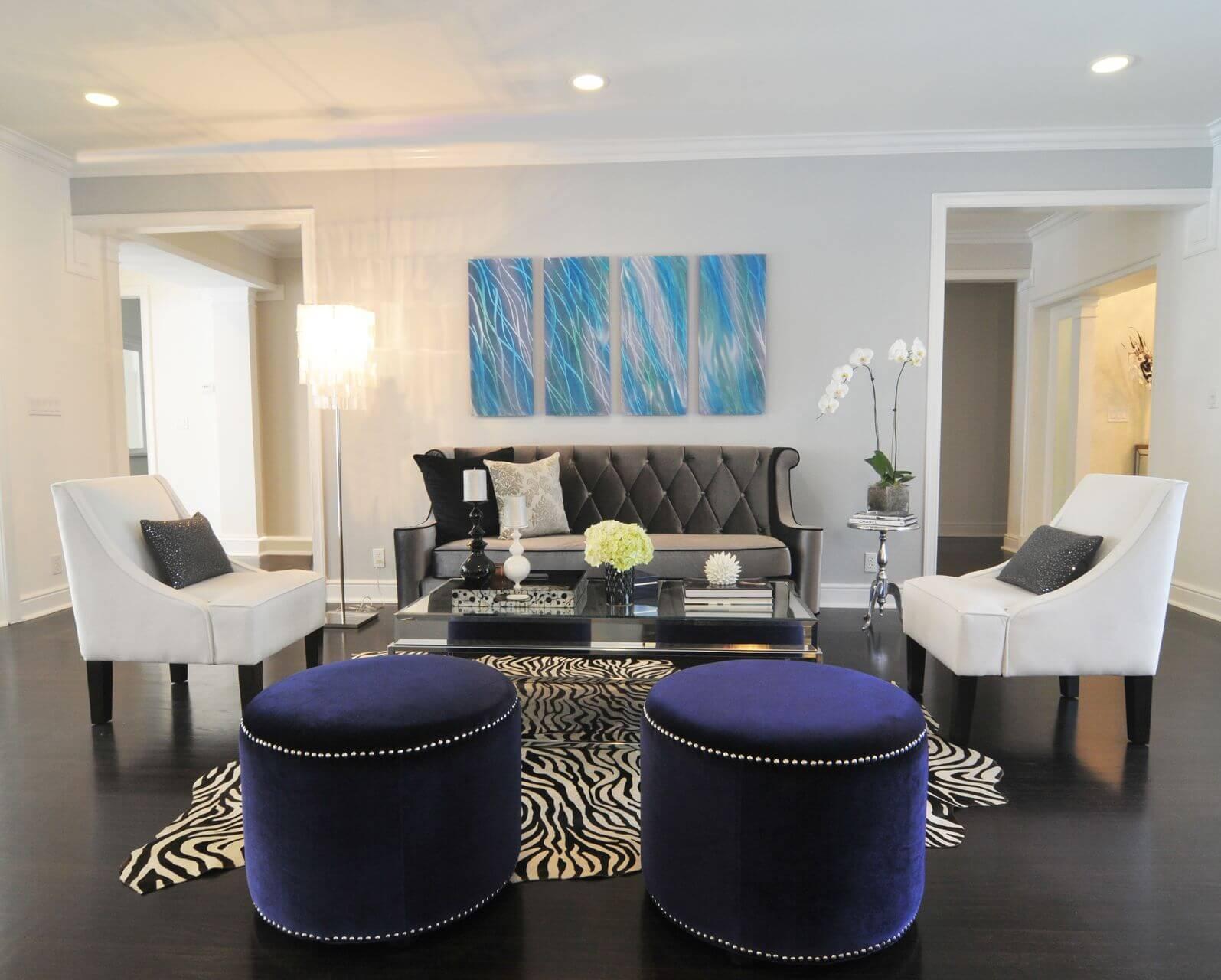 17 Zebra Living Room Decor Ideas Pictures