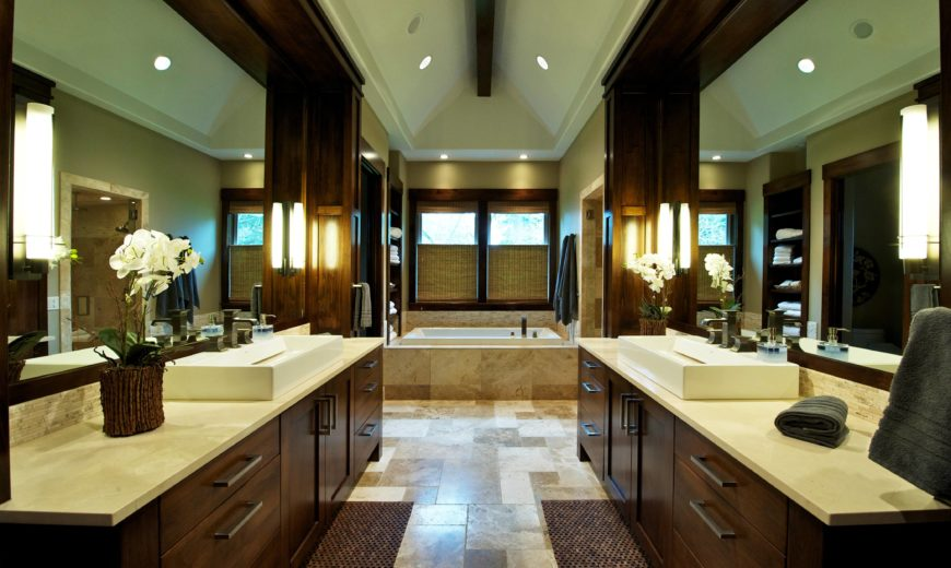 Full Length Mirror The Range Custom Home Interior By Nordby Design Studios
