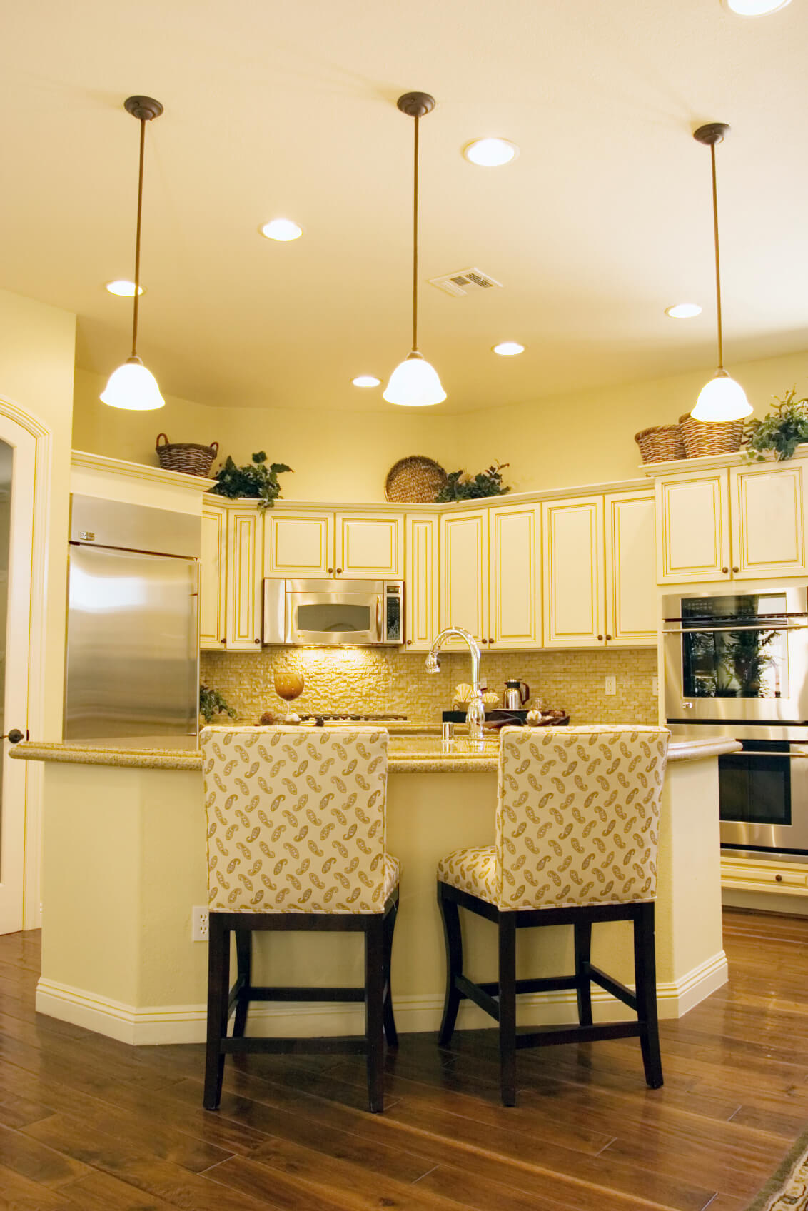 Light Yellow Kitchen 84 Custom Luxury Kitchen Island Ideas And Designs Pictures
