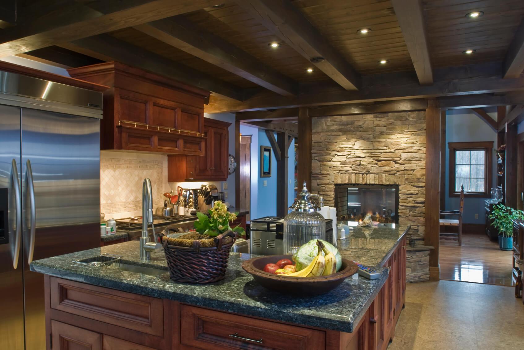 40 Magnificent Kitchen Designs With Dark Cabinets