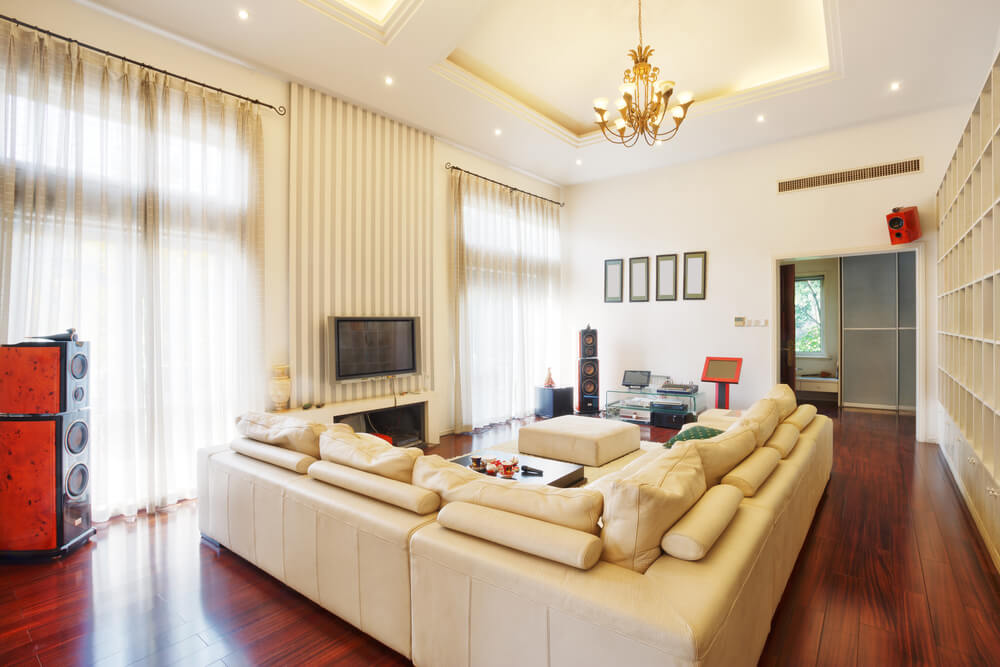 45 Contemporary Living Rooms with Sectional Sofas (Pictures) - living room with sectional