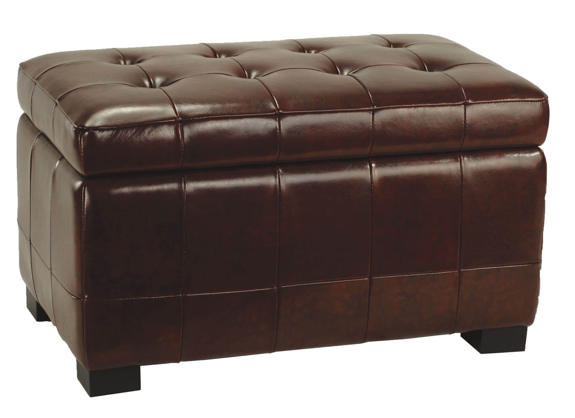 Brown Leather Coffee Table Ottoman 36 Top Brown Leather Ottoman Coffee Tables