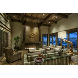 Luxurious Like Living Room Family Room Has An Wood Beamedceiling Custom Rustic Interior Design Ideas Diy Rustic Home Decor Ideas Living Room