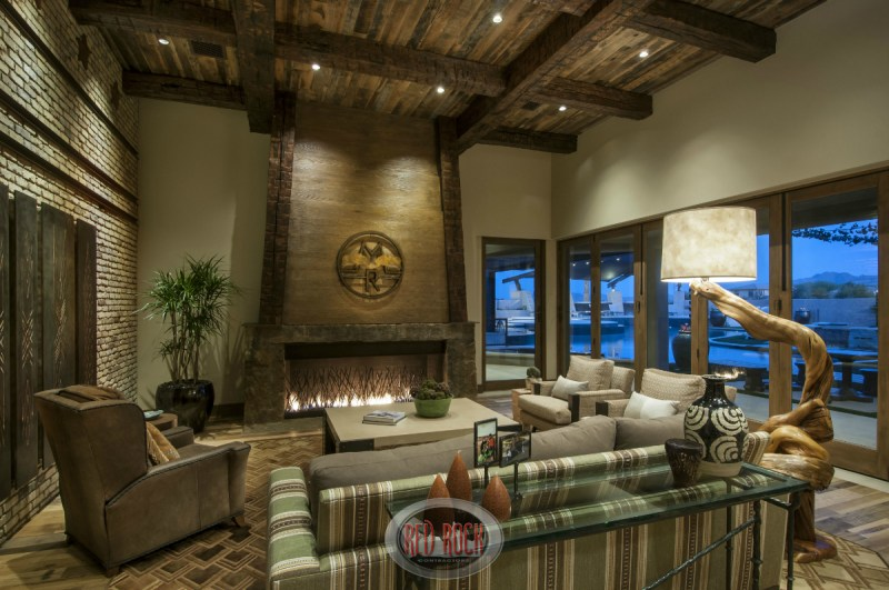 Large Of Rustic Home Decor Living Room