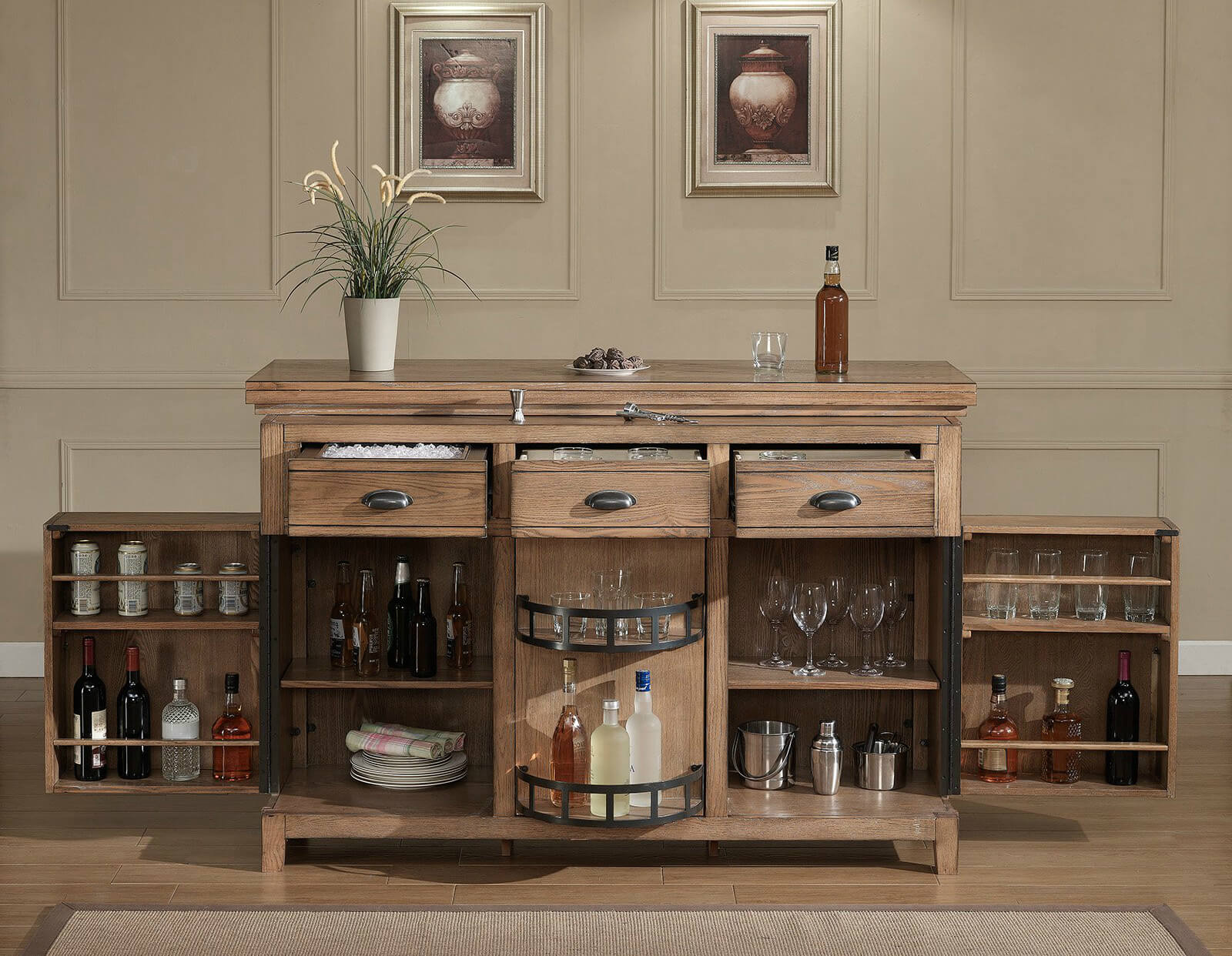 Barkast Wit 30 Top Home Bar Cabinets Sets And Wine Bars Elegant And Fun