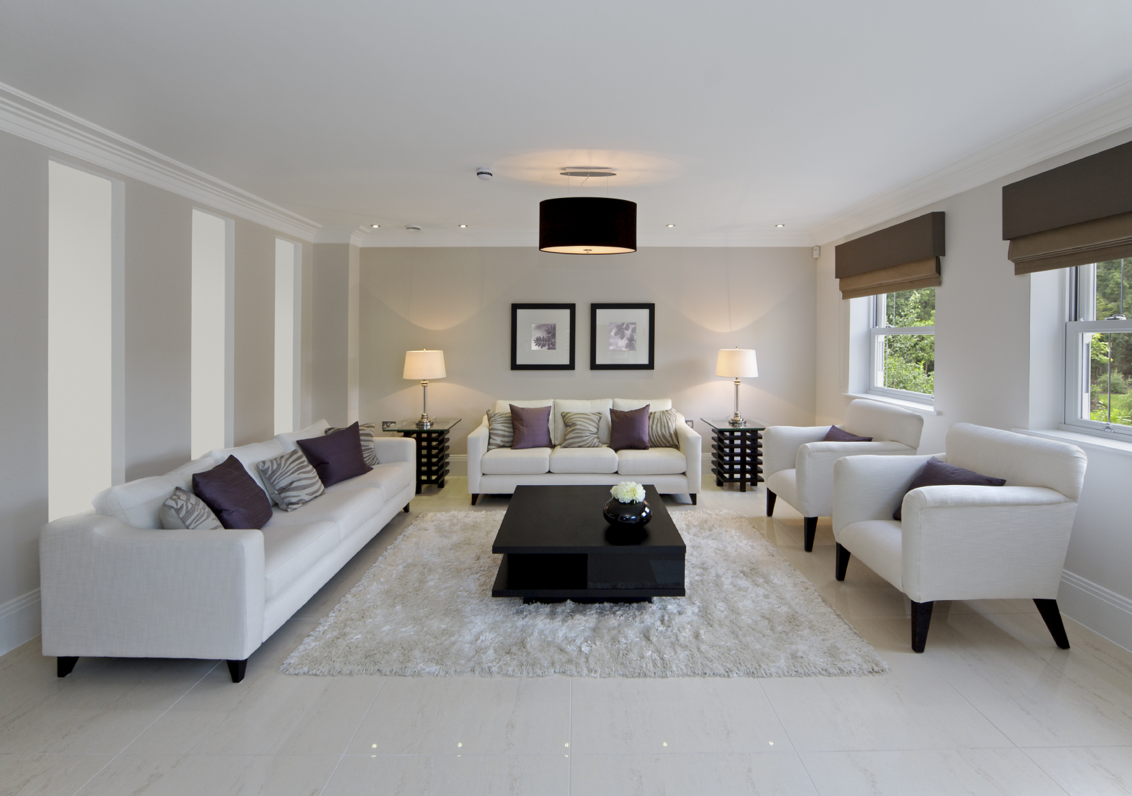 All White Apartment 47 Beautiful Modern Living Room Ideas In Pictures