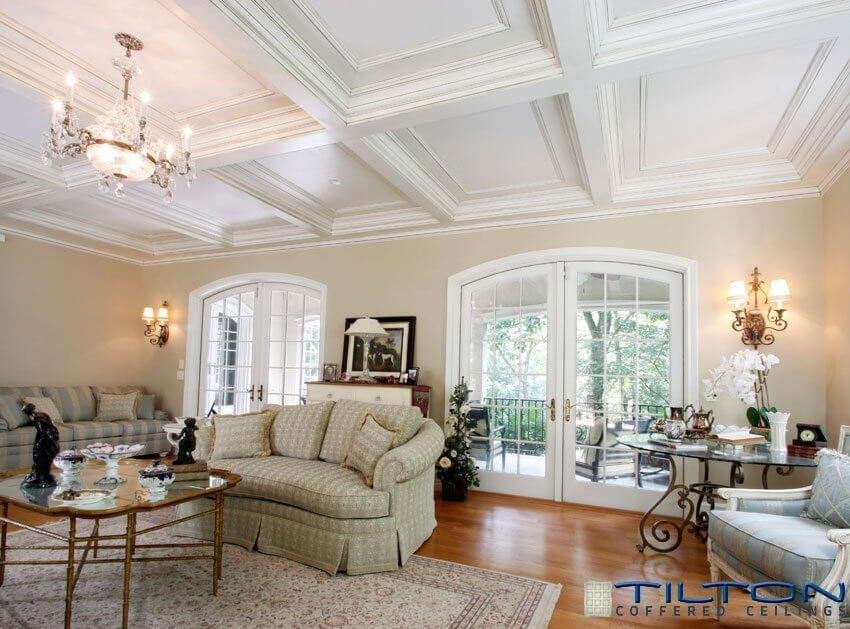 13 Gorgeous Rooms With Custom Coffered Ceilings By Ceiltrim Inc