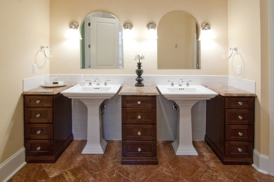 101 Smart Home Remodeling Ideas on a Budget - bathroom remodel ideas on a budget