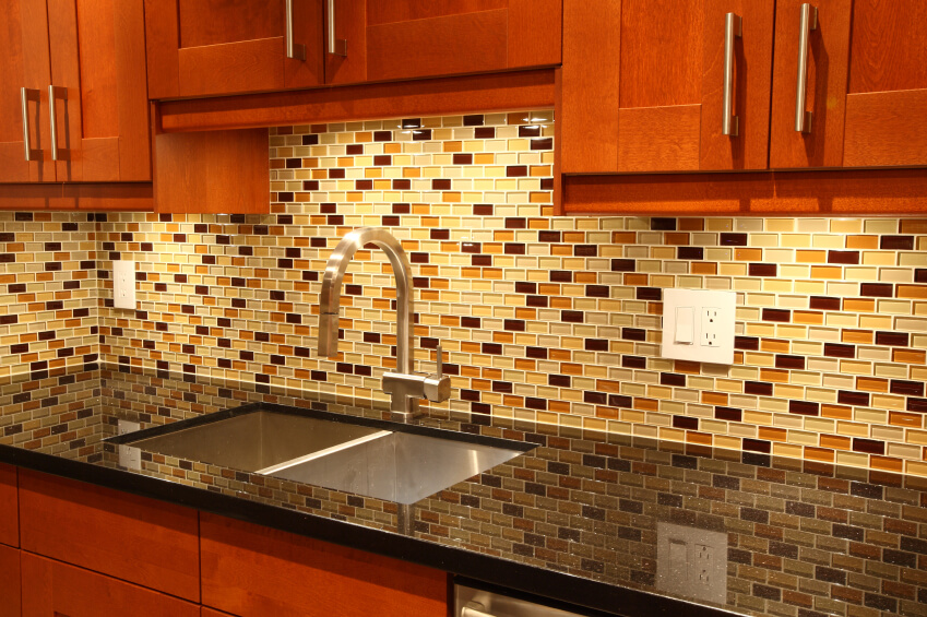 glass tile backsplash multiple colored tiles accents glass tile ocean backsplash kitchen subway tile outlet
