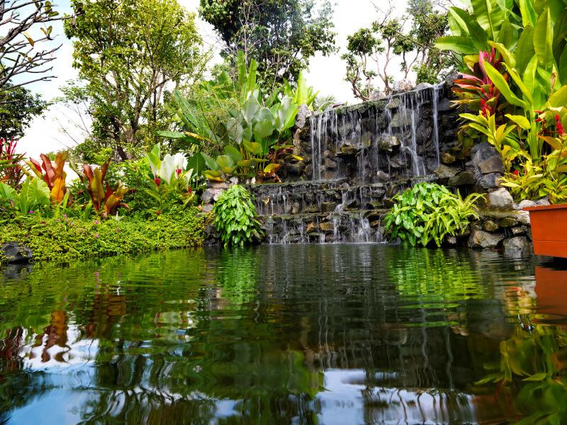 3d Wallpaper House Malaysia 50 Pictures Of Backyard Garden Waterfalls Ideas Amp Designs