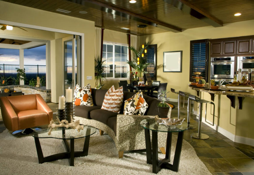 24 Awesome Living Room Designs with End Tables - living room end table