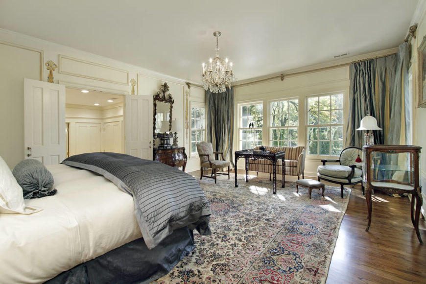 21 Stunning Master Bedrooms with Couches or Loveseats - Home - bedroom couch ideas