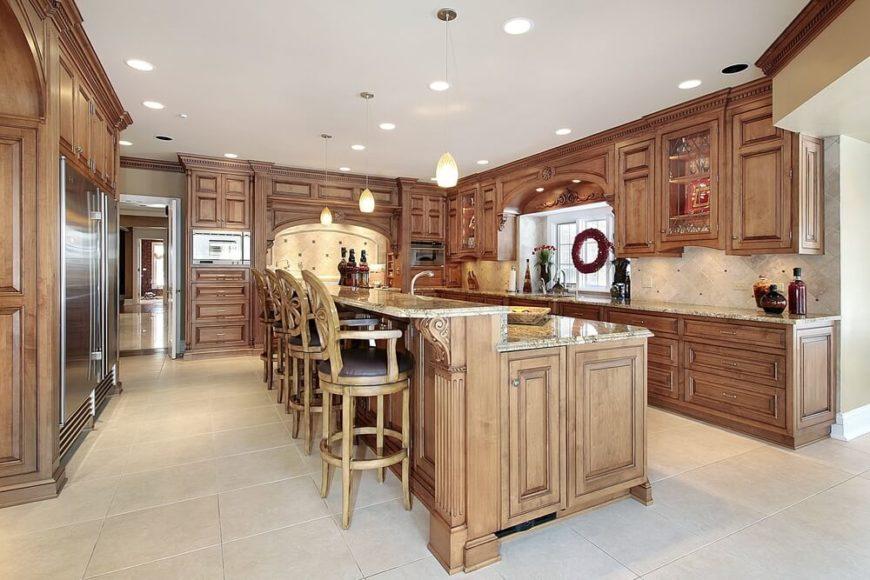 84 Custom Luxury Kitchen Island Ideas \ Designs (Pictures) - kitchen islands designs