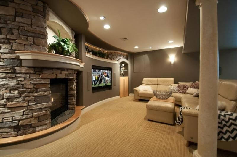 21 Gorgeous Living Rooms With Accent Walls of All Styles