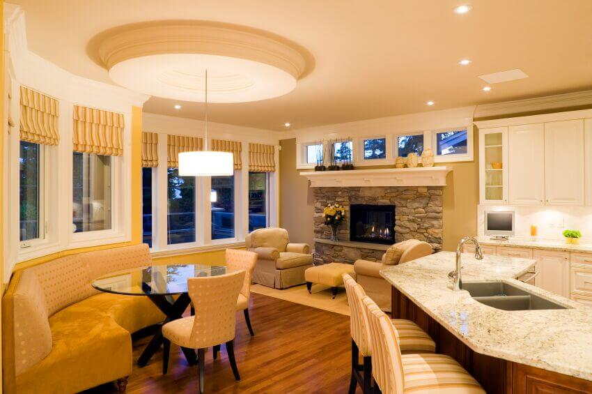 26 Incredible Airy Living Rooms With Kitchen Openings (Tons Of