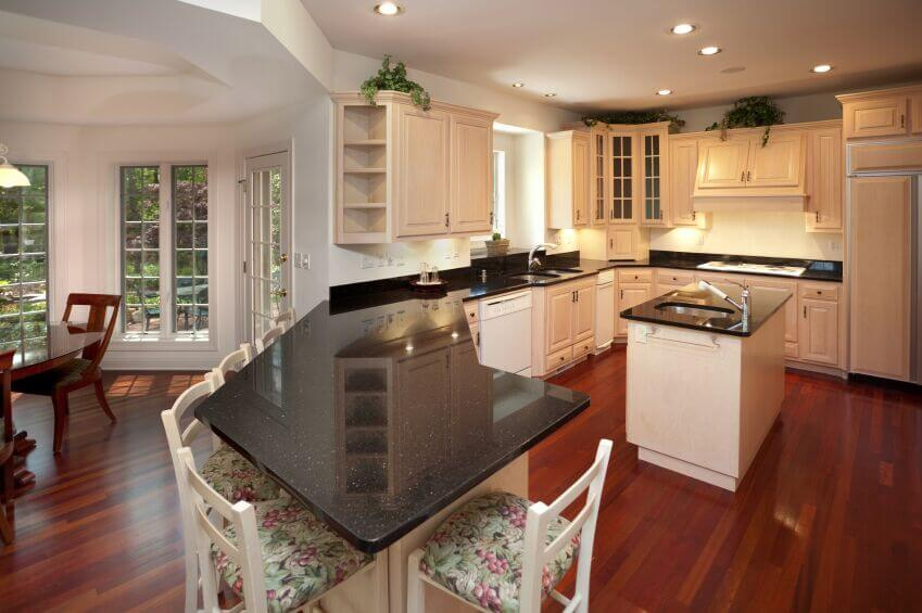 White Kitchen Cabinets And Green Backsplash 36 Inspiring Kitchens With White Cabinets And Dark Granite