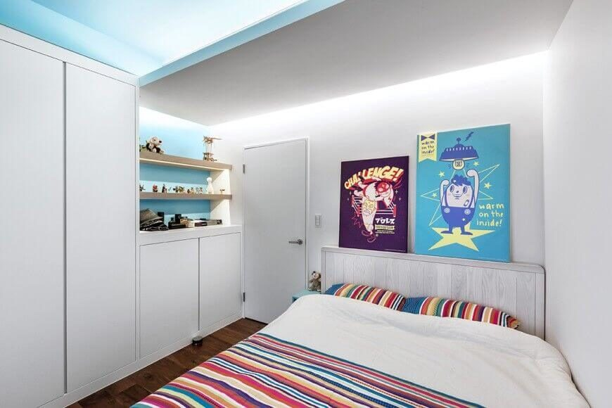 15 Bespoke Bedrooms With Bookshelves Pictures
