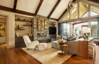 32 Spectacular Living Room Designs with Exposed Beams ...