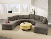 Riemann Curved Tufted Sectional. Affordable Pc Grey ...